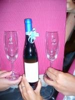 ワインとペアグラス